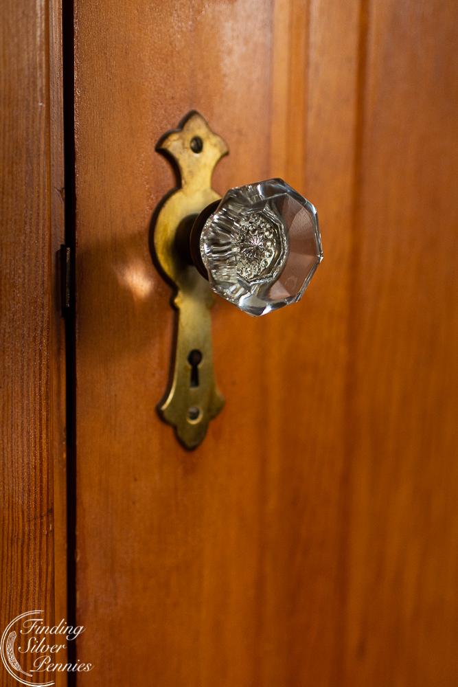 original crystal door knobs