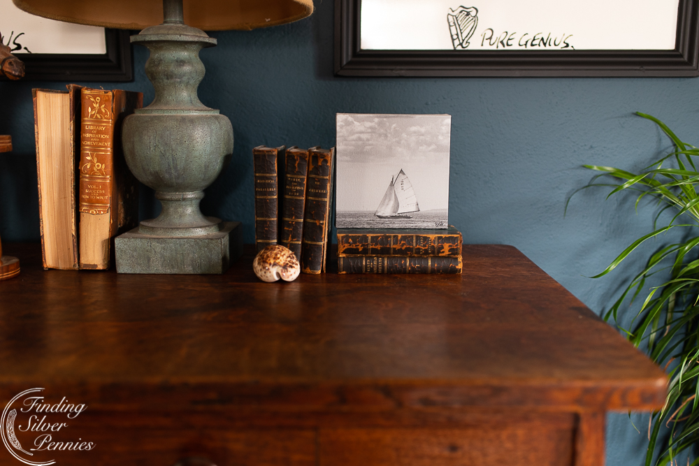 Coastal Details in a Man's Office