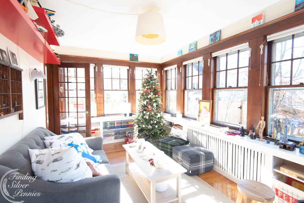 Playroom at Christmas