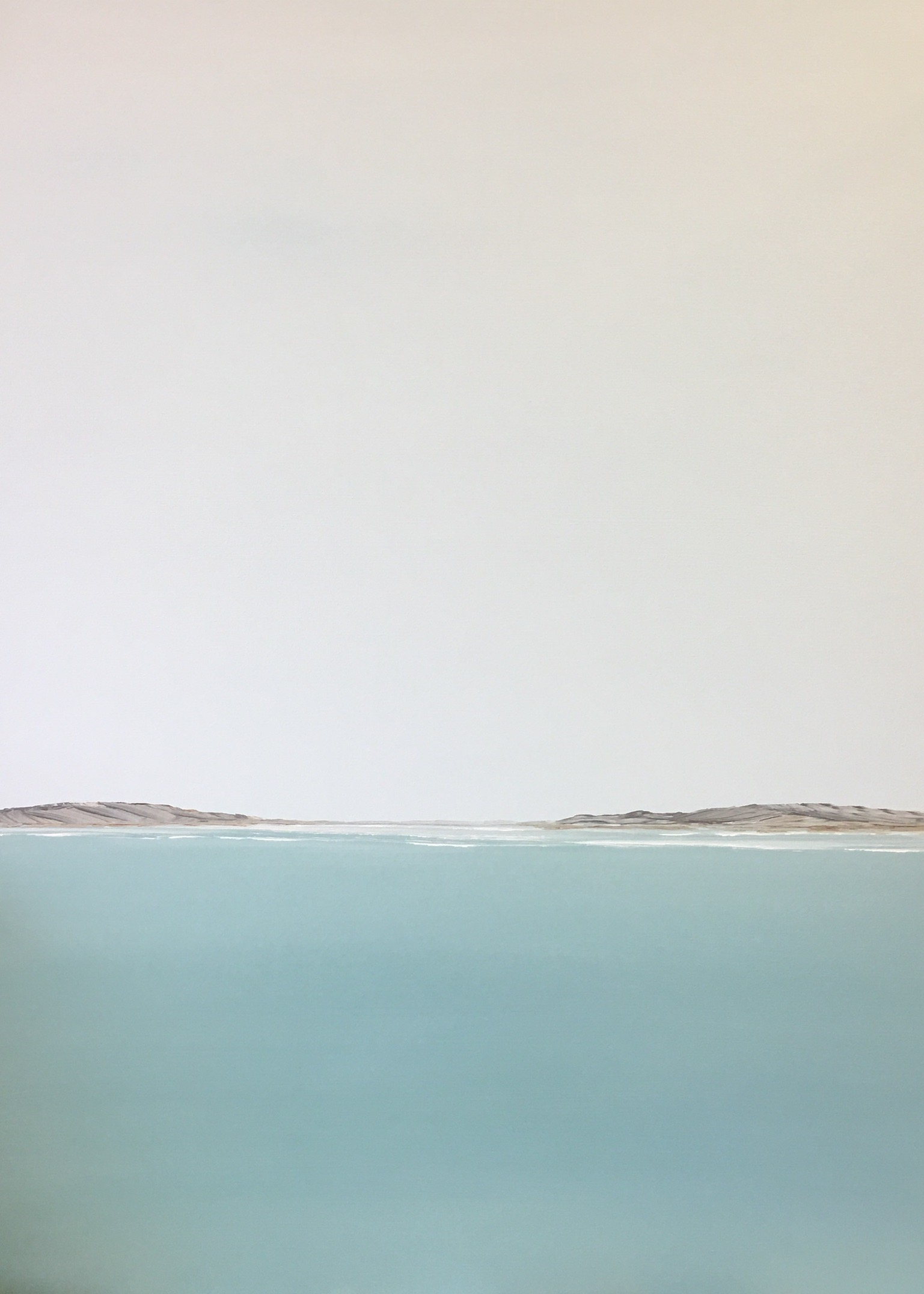 Serene Seascapes by Becky O'Toole and a conversation on her creative process #interview #creativity #coastal #seascapes