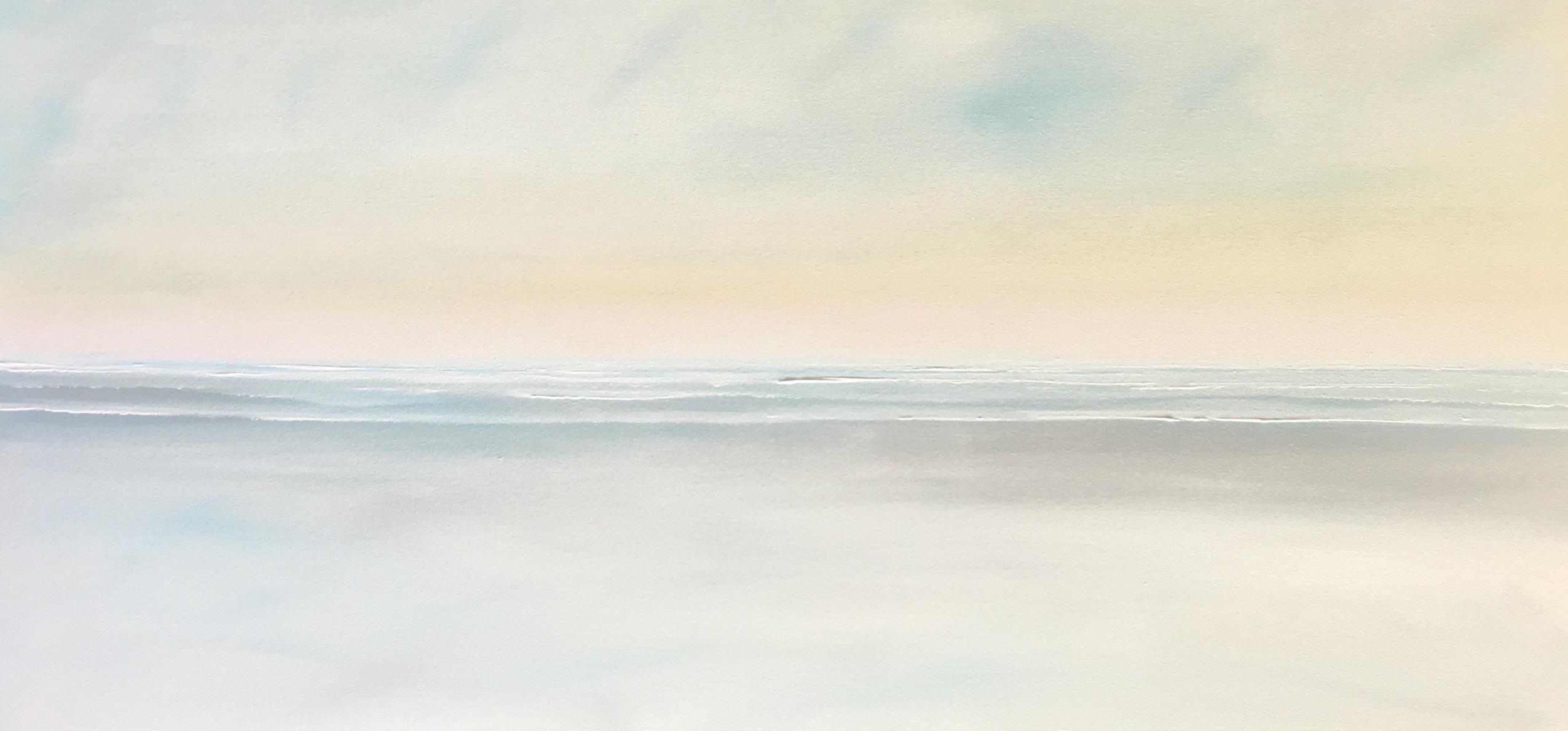 Beautiful coastal paintings by Becky O'Toole #interview #creativity #coastal #seascapes