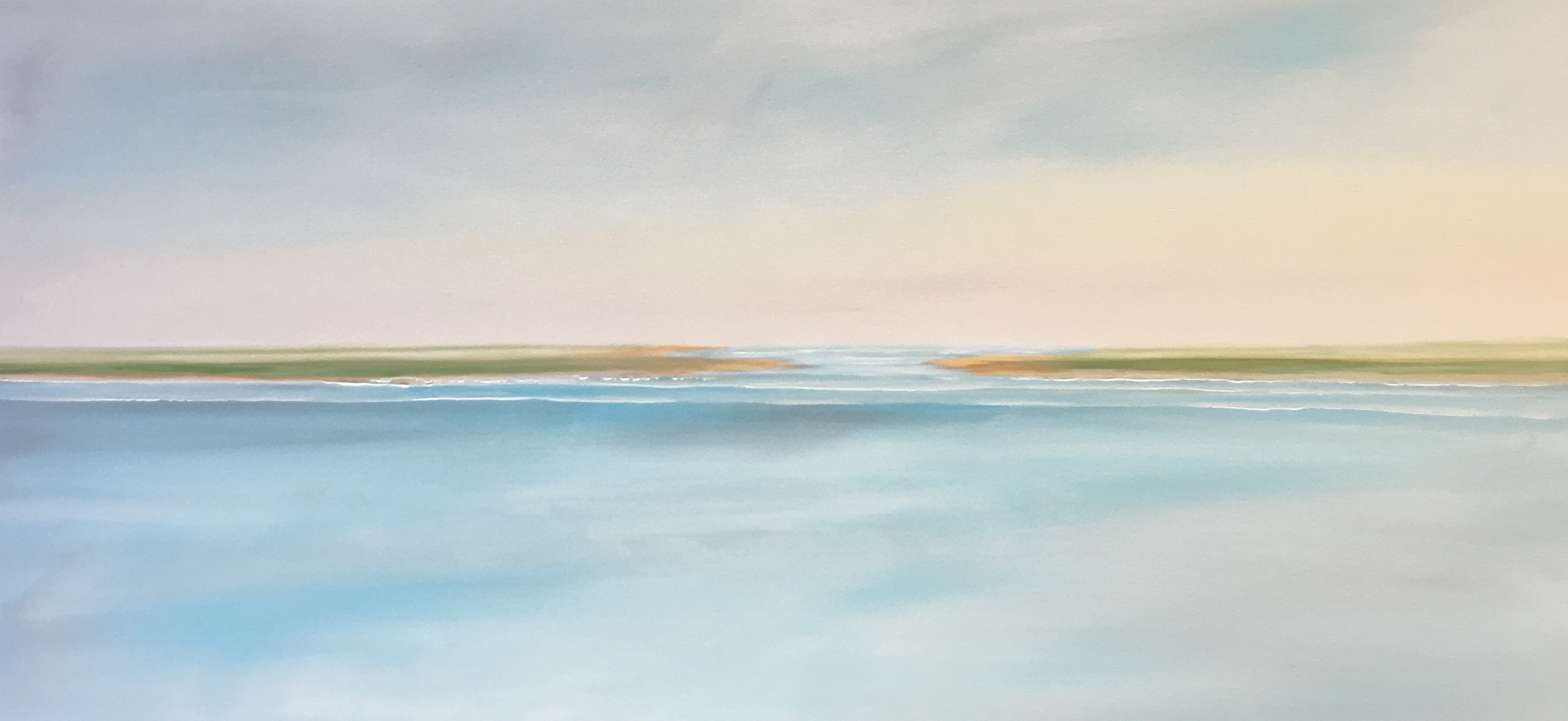Paintings with a purpose! Becky O'Toole creates beautiful and serene seascapes inspired by her life in Scituate. Read more about her incredible story. #interview #creativity #coastal #seascapes