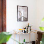 Champagne Cocktails and the Prettiest Bar Cart