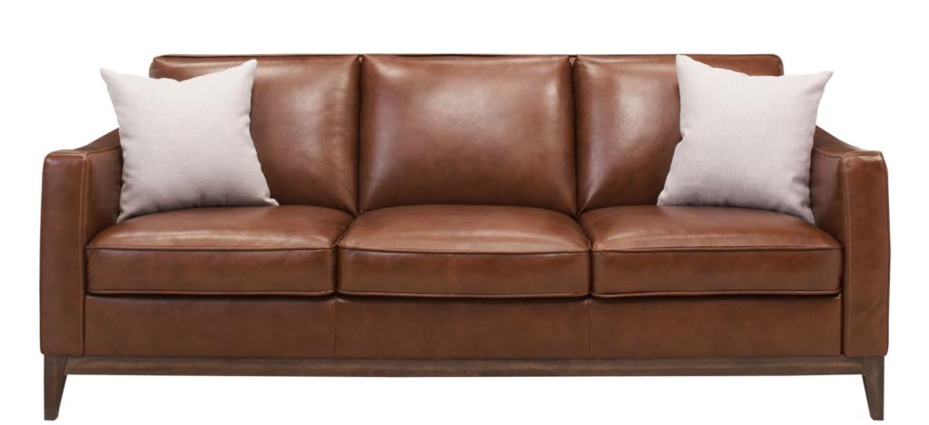 Berkley Leather Sofa from Raymour Flannigan