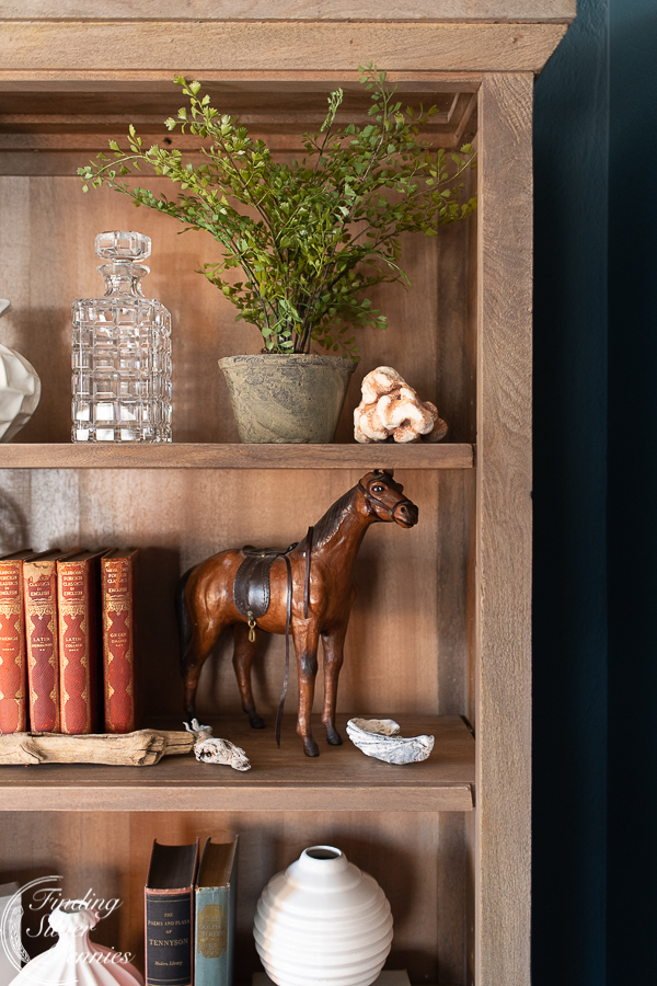 How to Style a Bookcase #bookcase #office #englishstyle #bookshelf #stylingtips