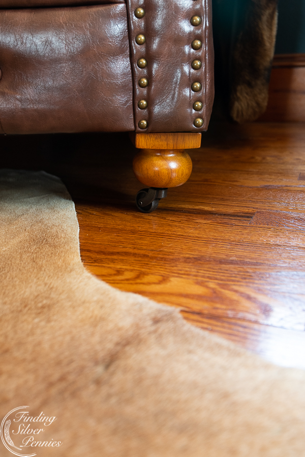 Beautiful legs and casters on this regal Chesterfield #bookcase #office #englishstyle #bookshelf #stylingtips