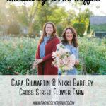 Creativity Over Coffee: Nikki Bartley & Cara Gilmartin (Cross Street Flower Farm)