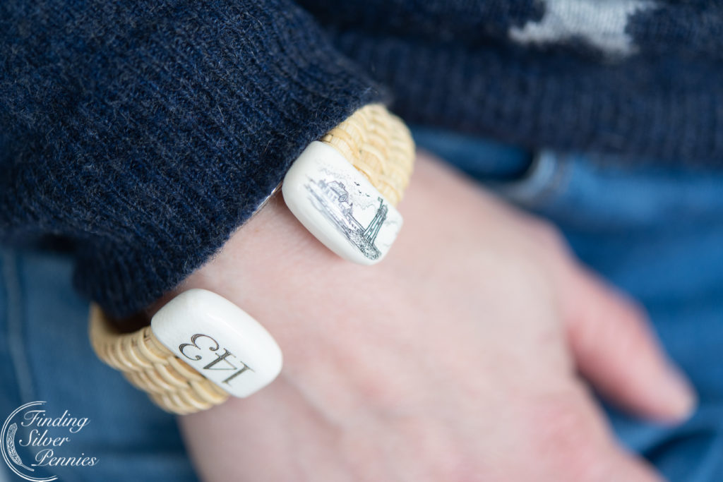 Coastal Styling and Nantucket Bracelets | Finding Silver Pennies