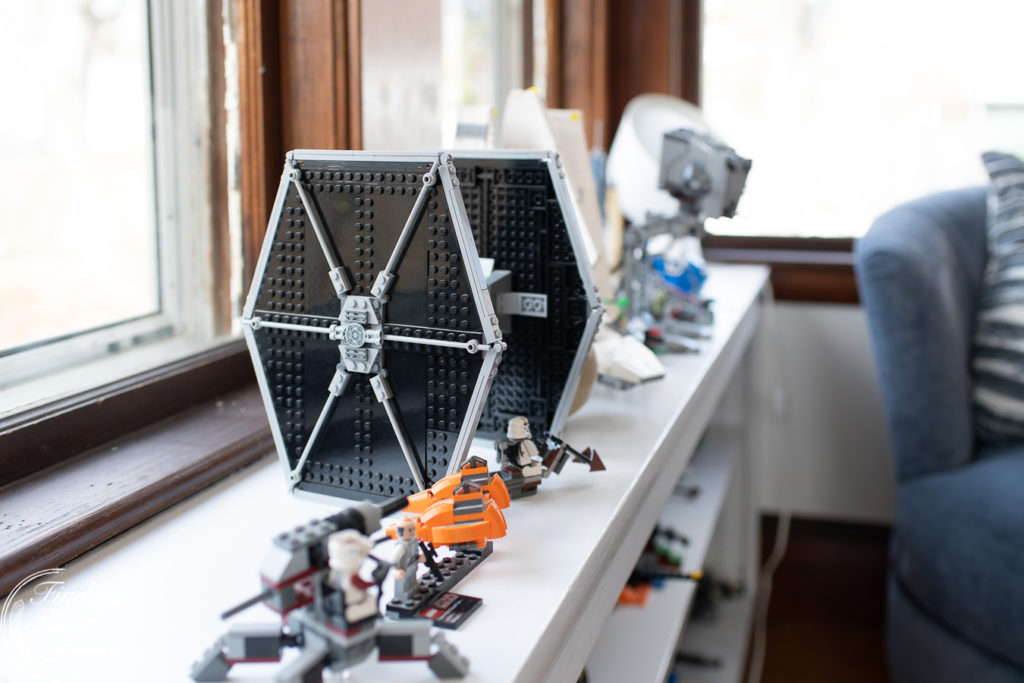 Starwars Legos in the playroom   Finding Silver Pennies