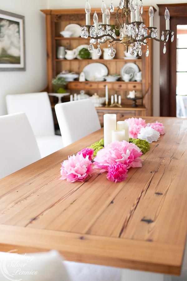 Simple and easy paper flowers #crafts #tissuepaperflowers #paperflowers #spring