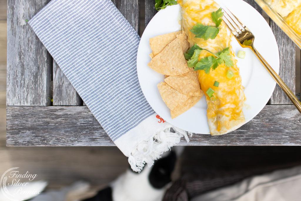 Yummy enchiladas | Finding Silver Pennies #cincodemayo #recipe #healthy #mexican #enchiladas